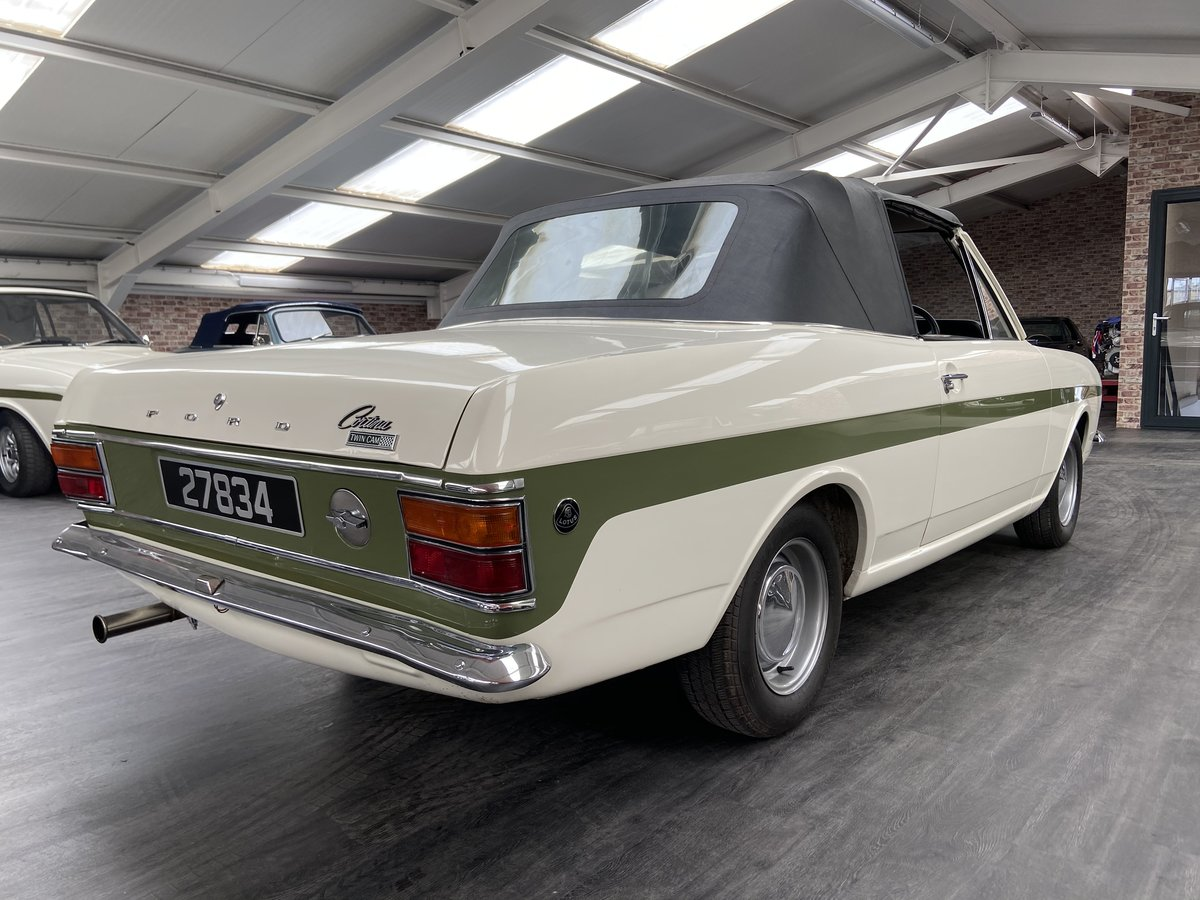 1971 Lotus cortina Crayford cabriolet For Sale (picture 2 of 6)