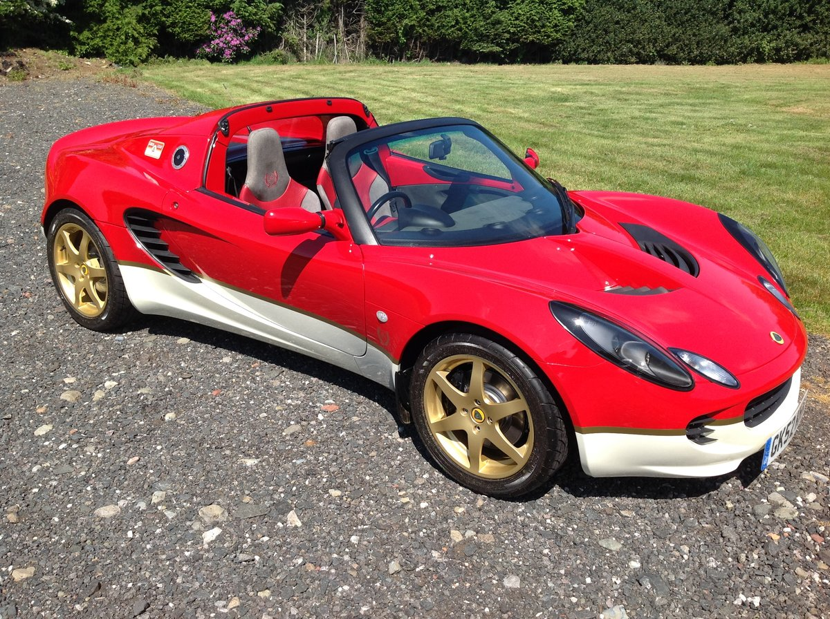 2003 Lotus Elise Type 49 SOLD (picture 1 of 6)