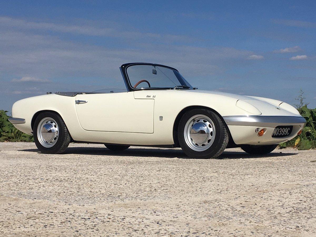 1965 Stunning Lotus Elan S2 For Sale (picture 2 of 6)