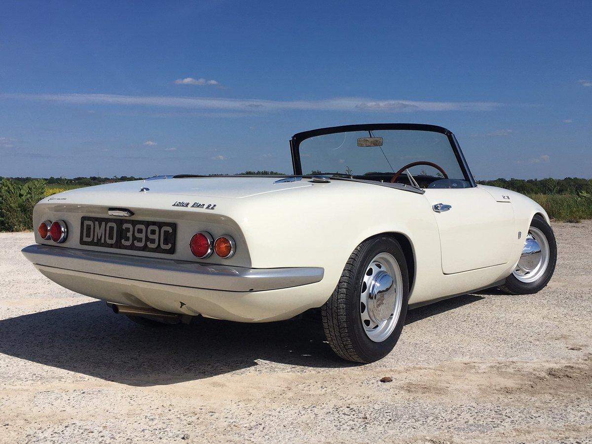1965 Stunning Lotus Elan S2 For Sale (picture 3 of 6)