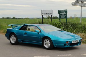Lotus Esprit Turbo SE Hi-Wing, 1993.   Rare example