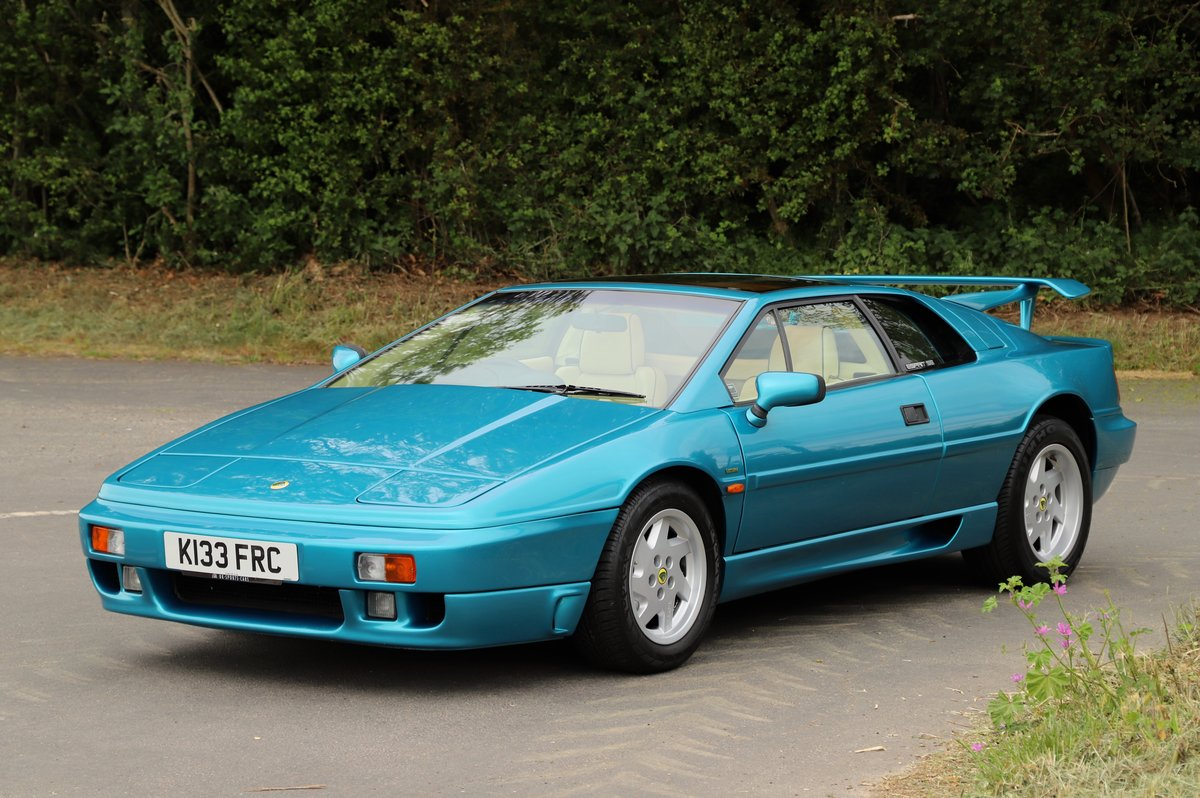 Lotus Esprit Turbo SE Hi-Wing, 1993.   Rare example  For Sale (picture 2 of 6)