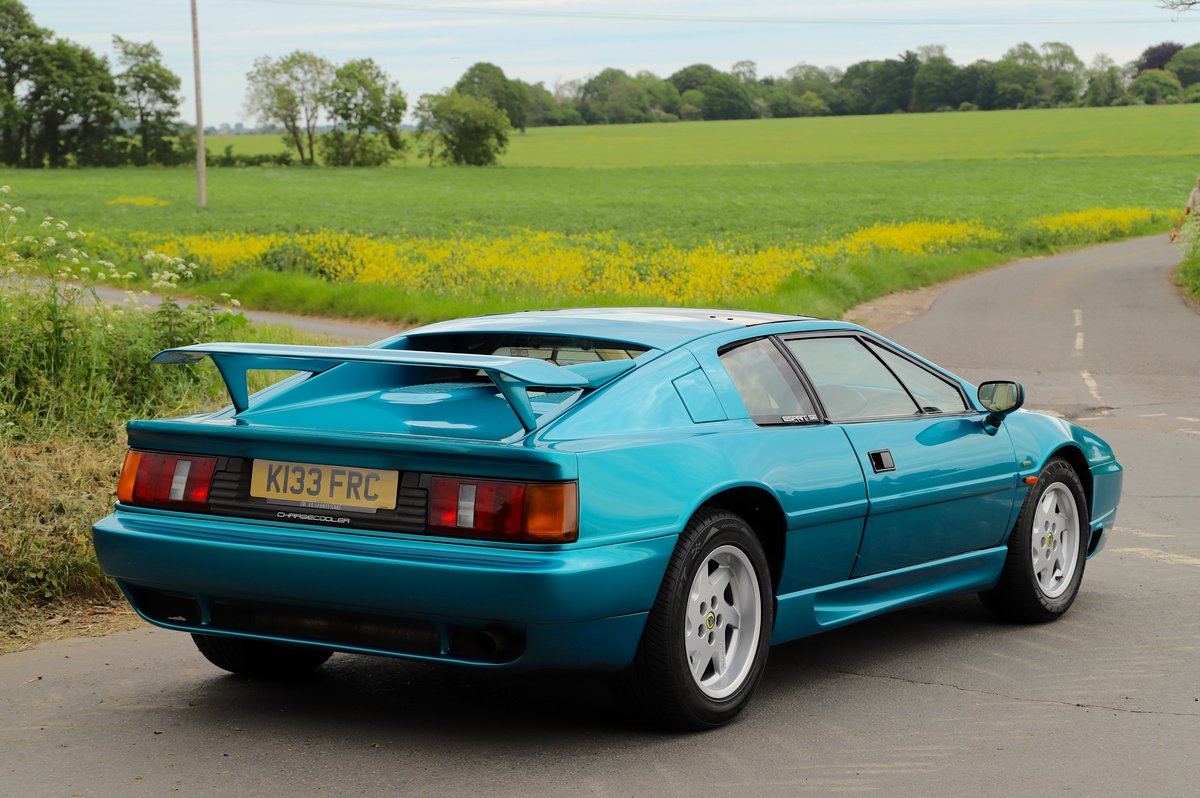 Lotus Esprit Turbo SE Hi-Wing, 1993.   Rare example  For Sale (picture 3 of 6)