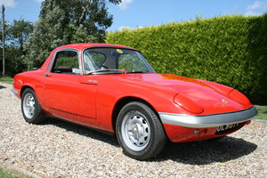 1967 Lotus Elan SE Coupe . Fabulous little car with great history For Sale