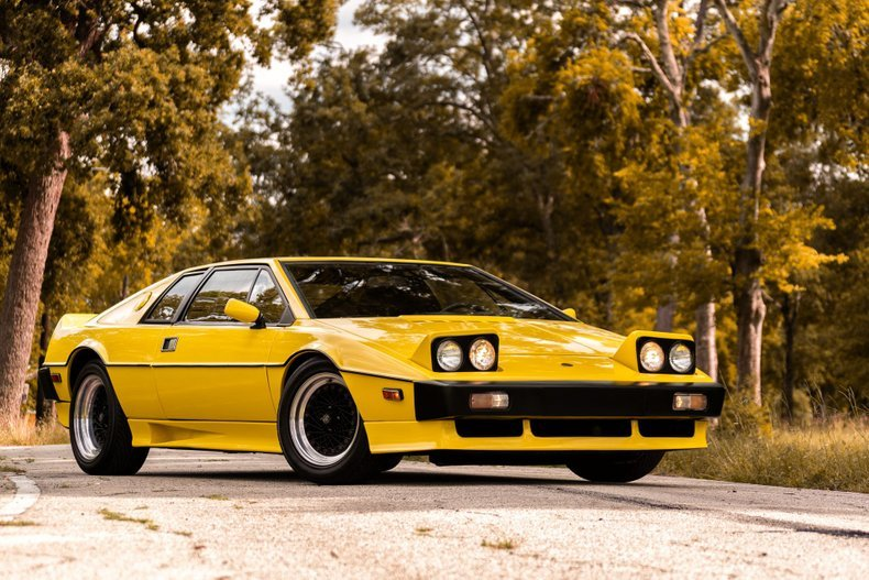 1978 Lotus Esprit clean solid Yellow driver coming soon $ob For Sale (picture 1 of 6)