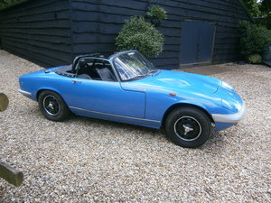 Lotus Elan 1967 S3 DHC Low/Miles/Owners Easy Projec NOW SOLD