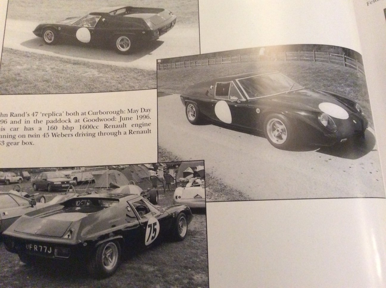 1971 Lotus Europa S2 (S1 Looks ) , Road legal Hillclimb For Sale (picture 3 of 5)