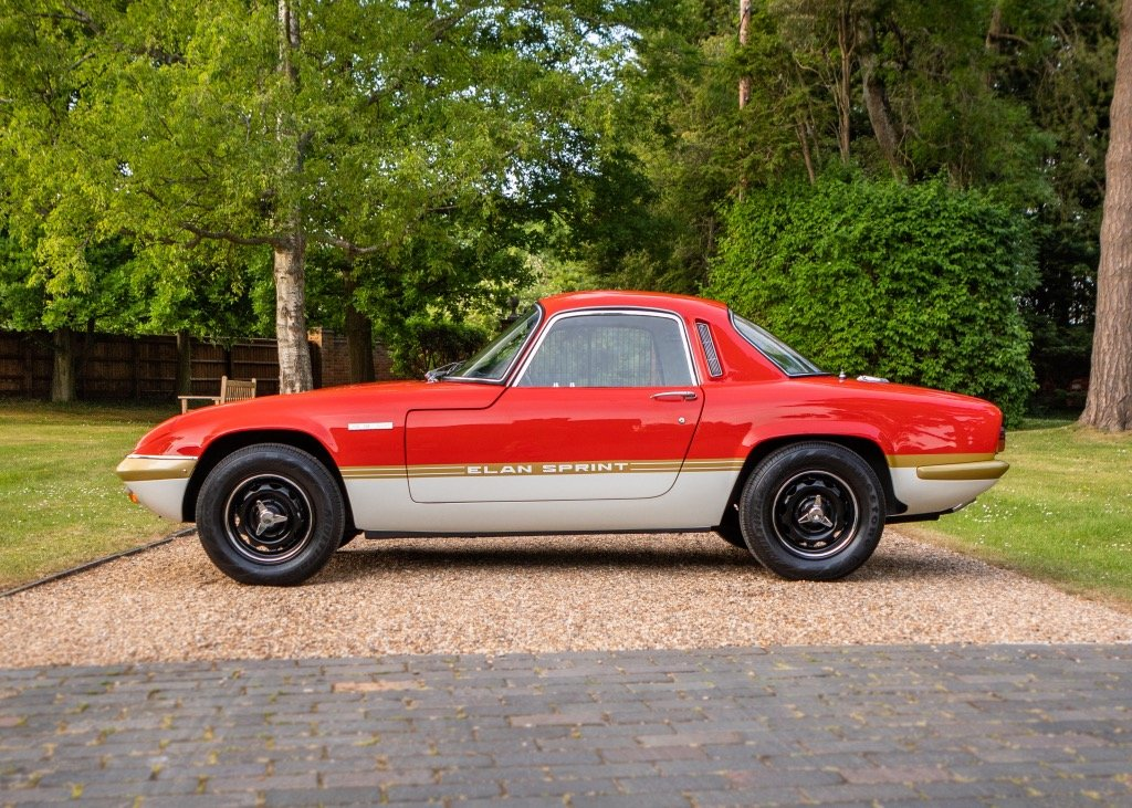 1972 Lotus Elan Sprint Fixedhead Coup SOLD by Auction (picture 2 of 6)
