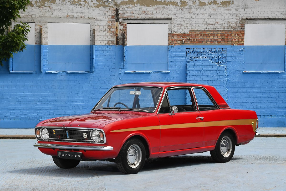 1970 Lotus Cortina Mark 2 SOLD (picture 1 of 16)