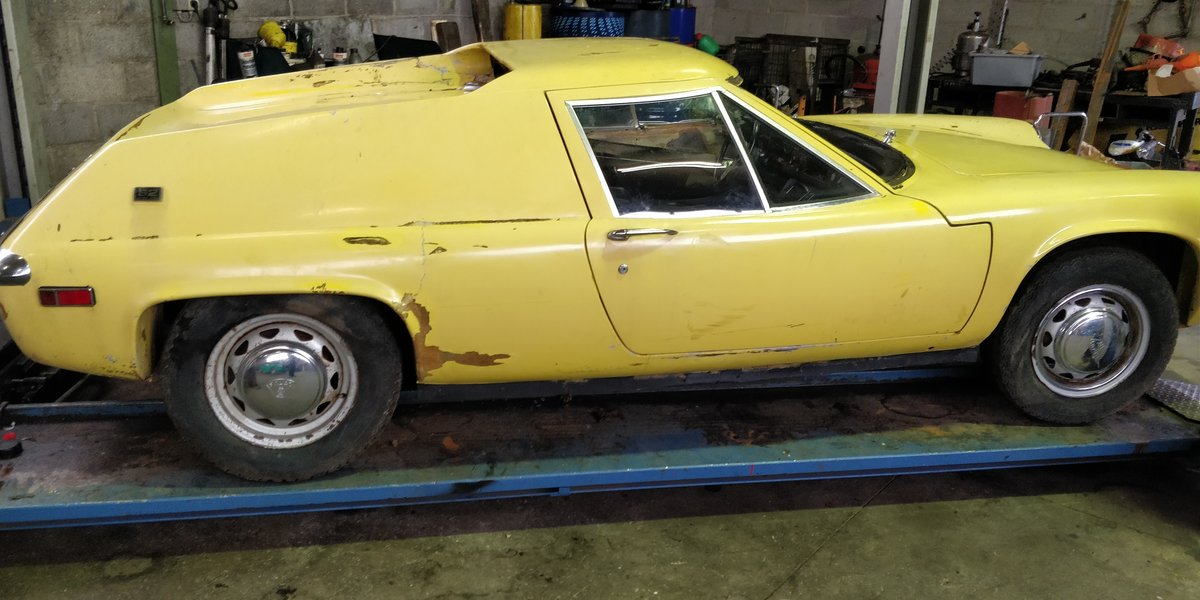1970 Lotus Europa '70 LHD for restauration For Sale (picture 1 of 6)