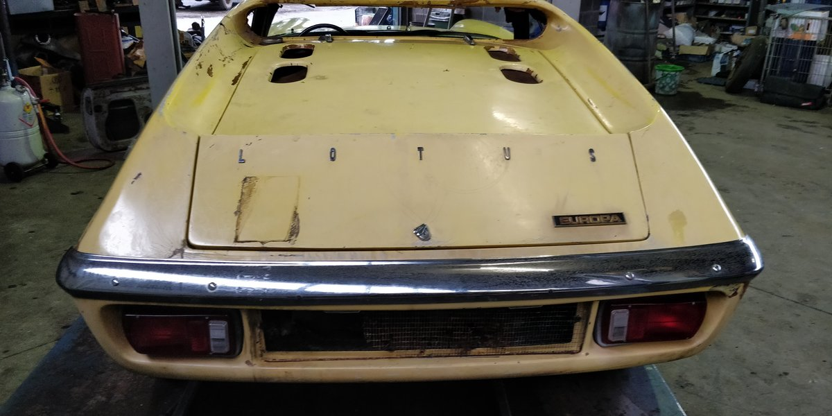 1970 Lotus Europa '70 LHD for restauration For Sale (picture 2 of 6)