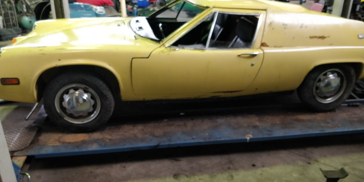 1970 Lotus Europa '70 LHD for restauration For Sale (picture 3 of 6)