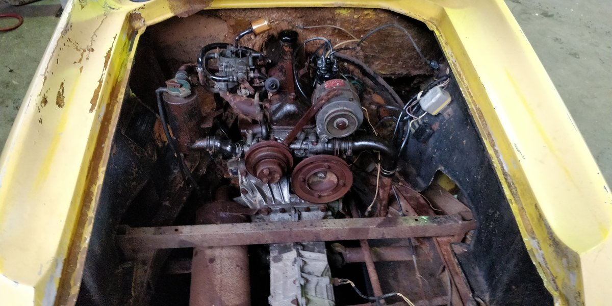 1970 Lotus Europa '70 LHD for restauration For Sale (picture 4 of 6)