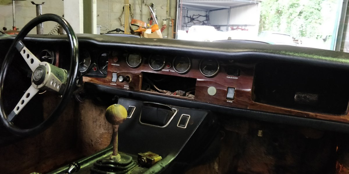 1970 Lotus Europa '70 LHD for restauration For Sale (picture 5 of 6)