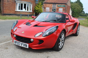 2007 ELISE 111R - TOURING PACK, CHILLI RED 'LIFESTYLE' PAINT