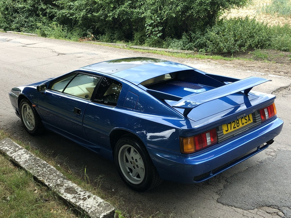 1992 Lotus Esprit Turbo SE Highwing For Sale (picture 2 of 6)