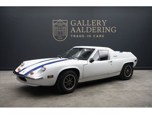 1973 Lotus Europa Twin-Cam 1600 Special 'Big Valve', Only 52.170