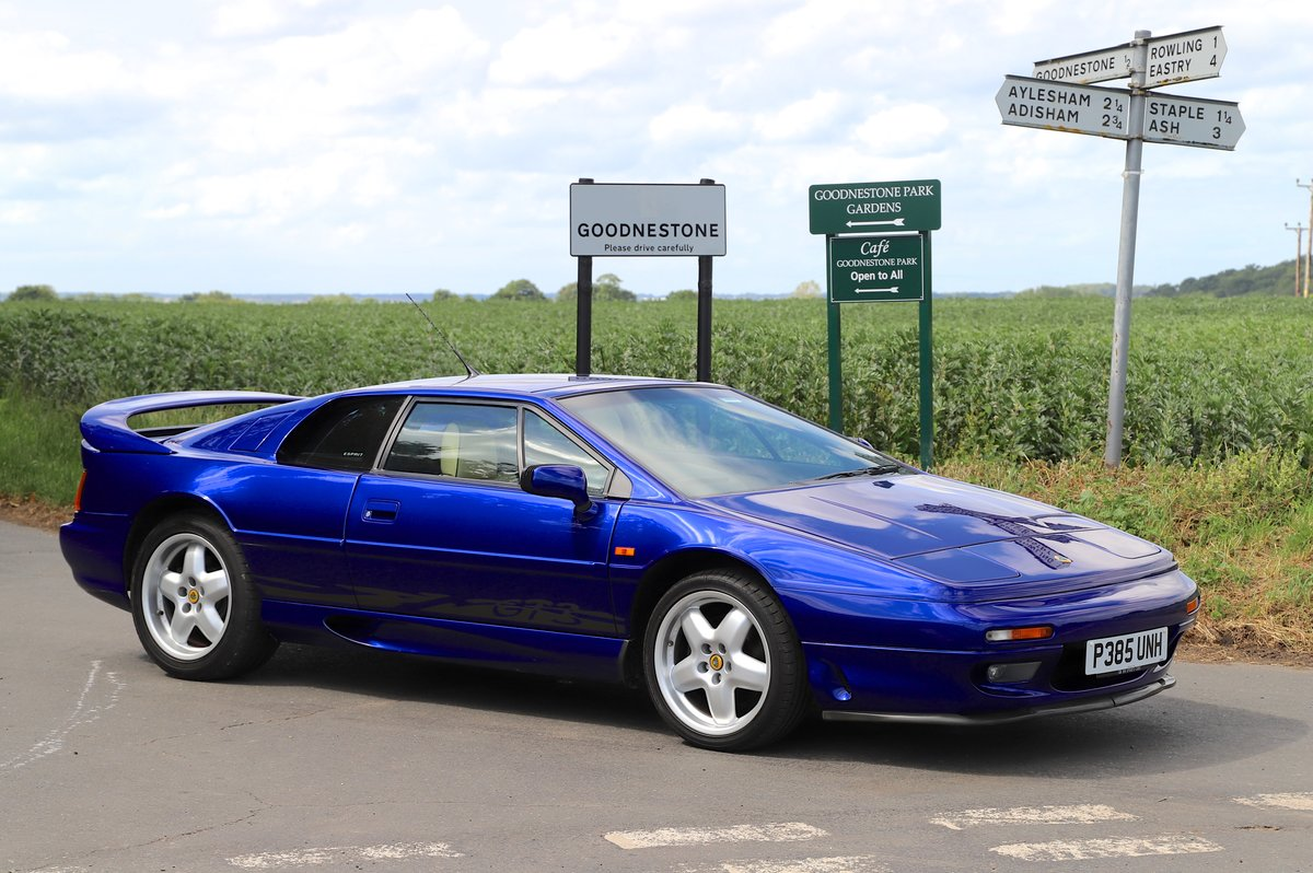 Lotus Esprit GT3 Turbo, 1997.  19,700 miles from new!!  For Sale (picture 1 of 6)