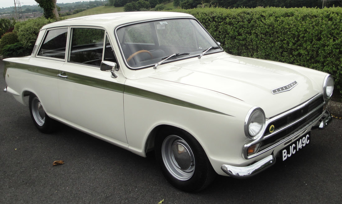 1965 Lotus Cortina Sports Saloon SOLD by Auction (picture 1 of 6)