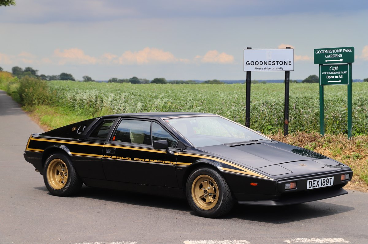 Lotus Esprit S2 JPS No.40 of 100 Limited Edition, 1979.  For Sale (picture 1 of 6)
