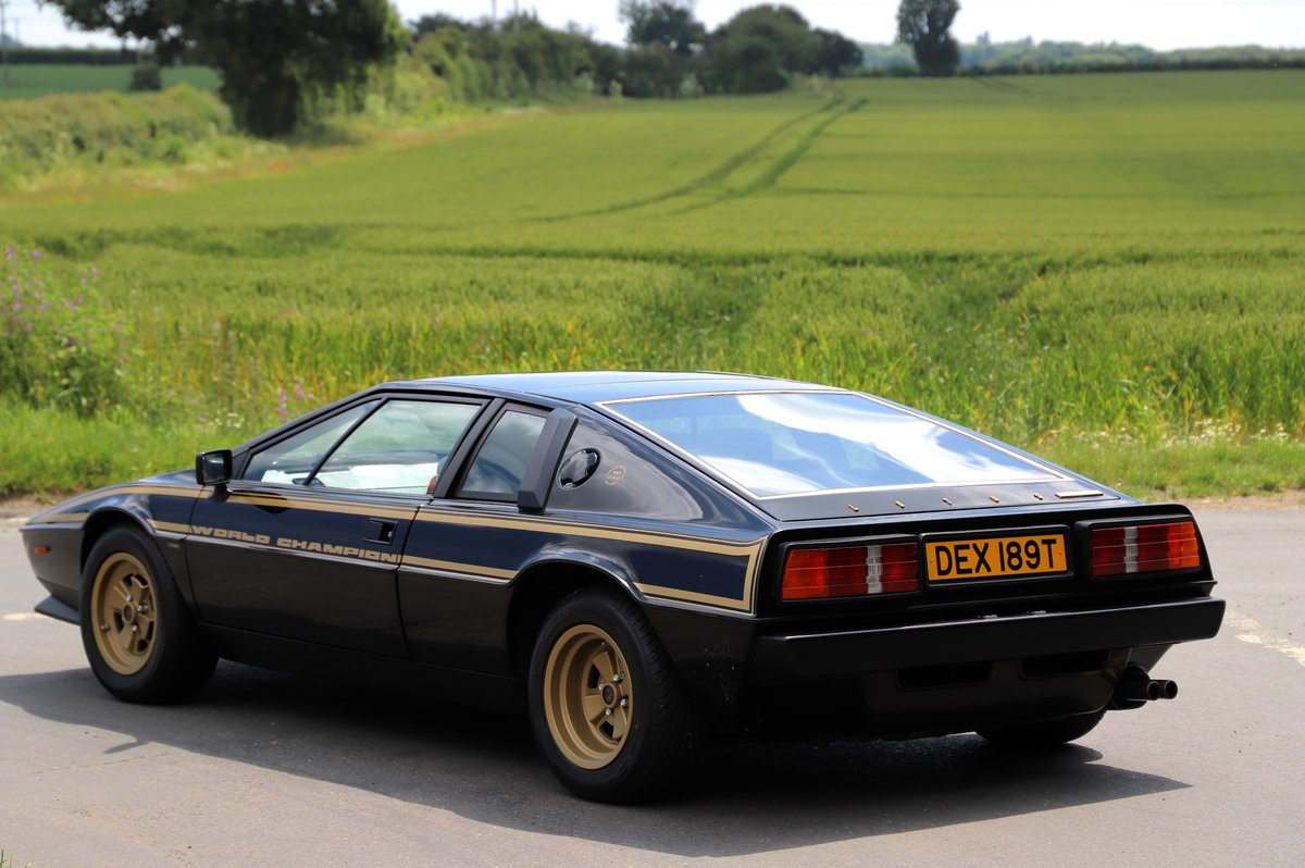 Lotus Esprit S2 JPS No.40 of 100 Limited Edition, 1979.  For Sale (picture 3 of 6)