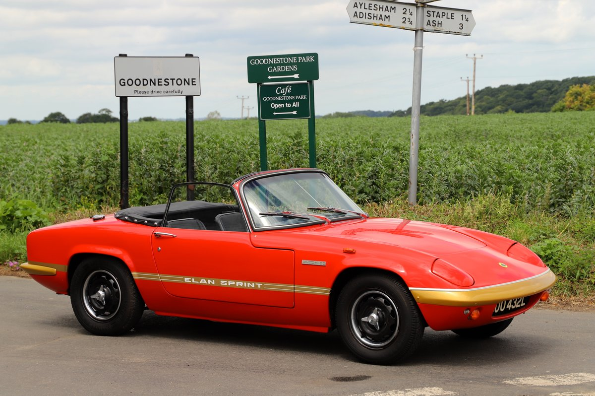 Lotus Elan Sprint DHC, 1973. Carnival Red. For Sale (picture 1 of 6)