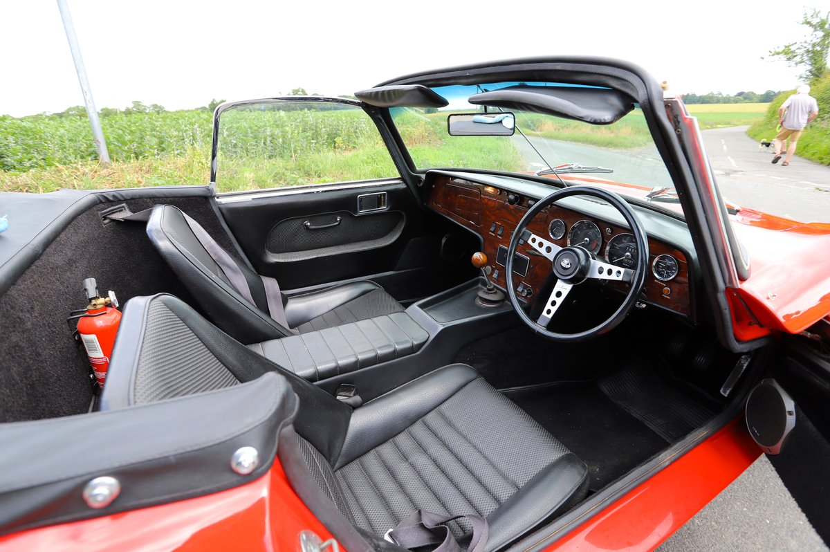 Lotus Elan Sprint DHC, 1973. Carnival Red. For Sale (picture 4 of 6)