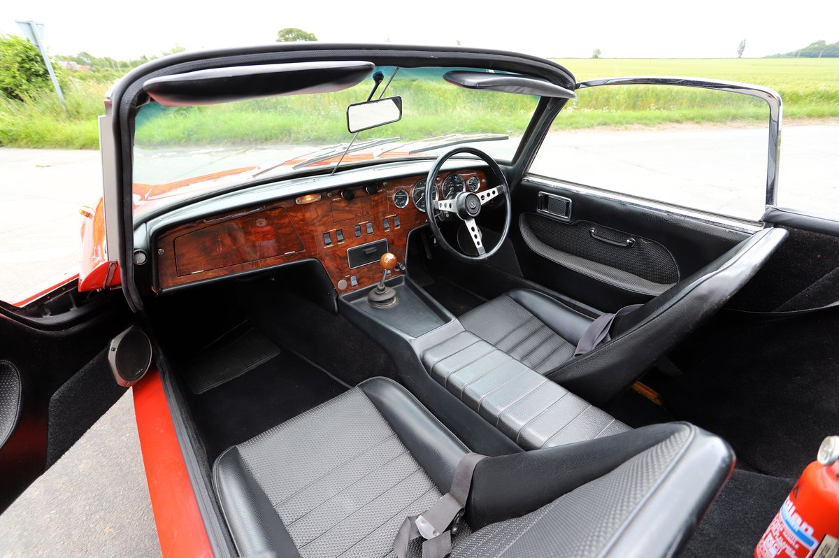 Lotus Elan Sprint DHC, 1973. Carnival Red. For Sale (picture 5 of 6)