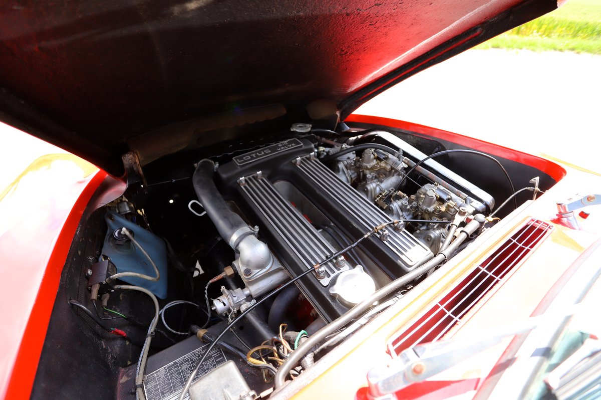 Lotus Elan Sprint DHC, 1973. Carnival Red. For Sale (picture 6 of 6)