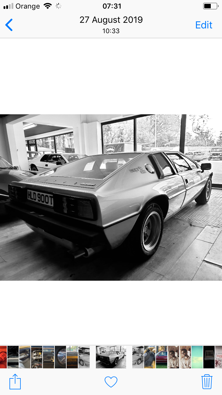 1979 Lotus Esprit S2 Exceptional dry stored example  For Sale (picture 4 of 5)