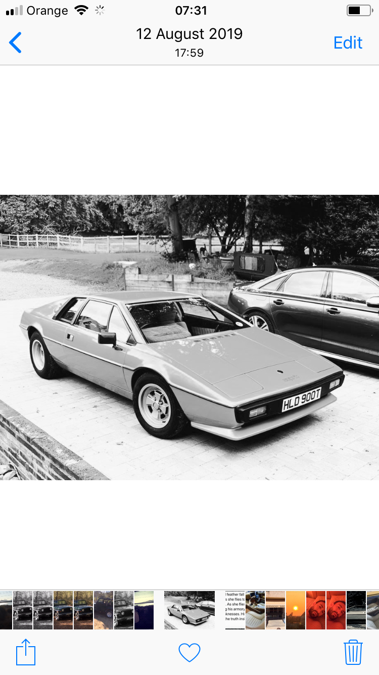 1979 Lotus Esprit S2 Exceptional dry stored example  For Sale (picture 5 of 5)