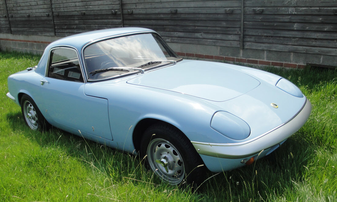 1966 Lotus Elan Series 3 Fixed Head Coupe SOLD by Auction (picture 2 of 6)