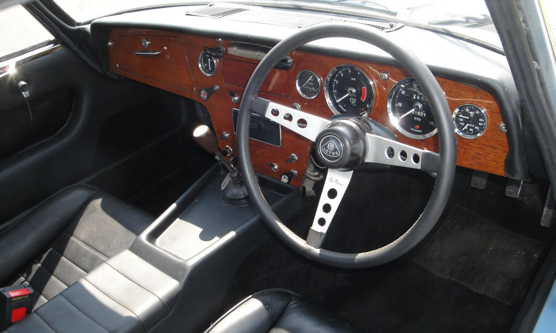 1966 Lotus Elan Series 3 Fixed Head Coupe SOLD by Auction (picture 4 of 6)