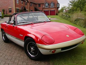 0001 LOTUS ELAN SPRINT WANTED LOTUS ELAN SPRINT WANTED
