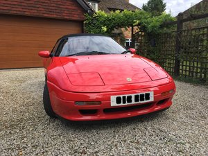 1990 Lotus Elan low miles Comprehensive documentation.