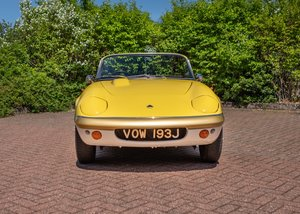 1970 Lotus Elan S4Sprint Specification