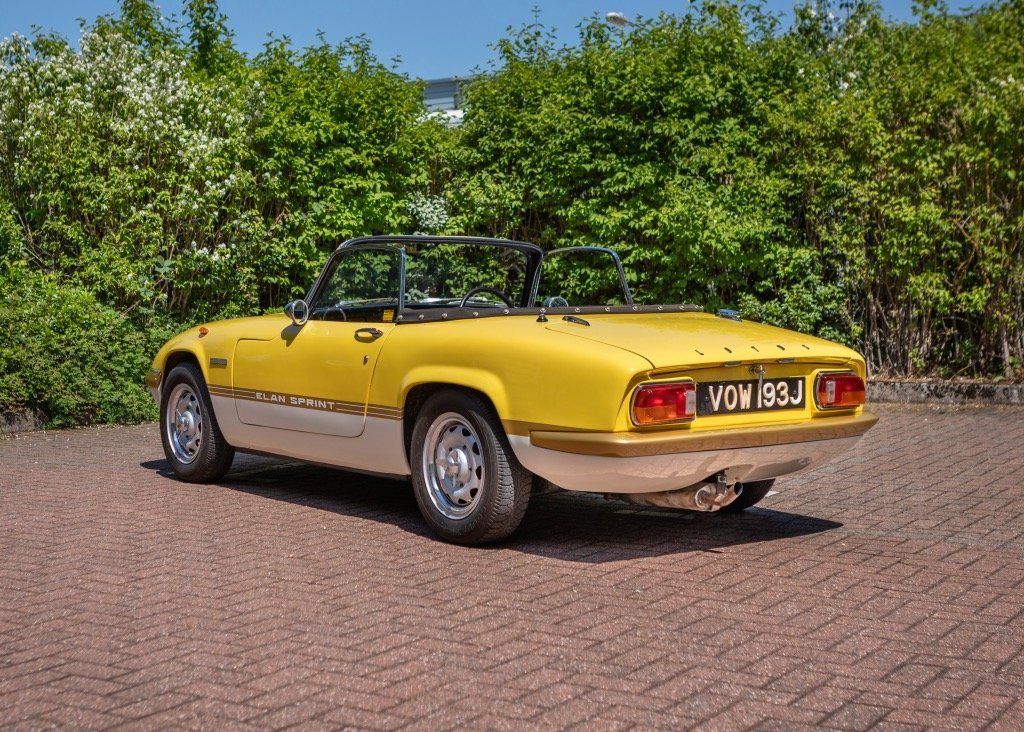 1970 Lotus Elan S4Sprint Specification SOLD by Auction (picture 2 of 6)