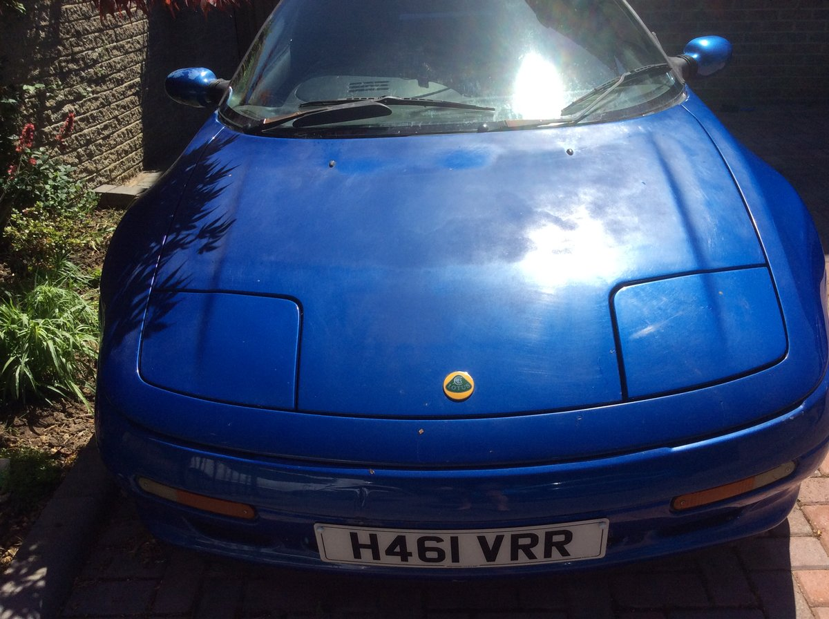 1991 Lotus M100 'project' car with parts included  SOLD (picture 3 of 6)