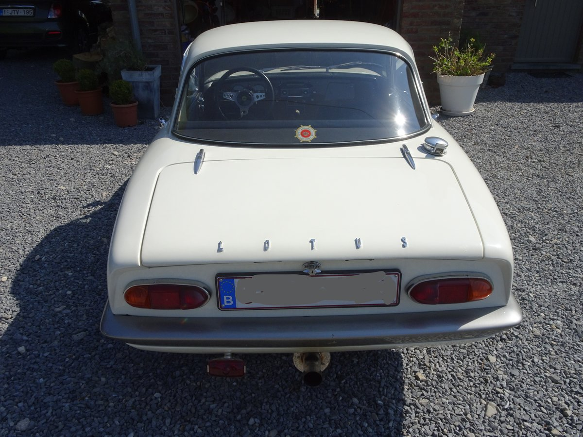 1966 Lotus Elan S3 Coupé - LHD SOLD (picture 2 of 6)