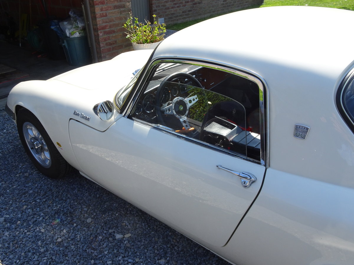 1966 Lotus Elan S3 Coupé - LHD SOLD (picture 5 of 6)