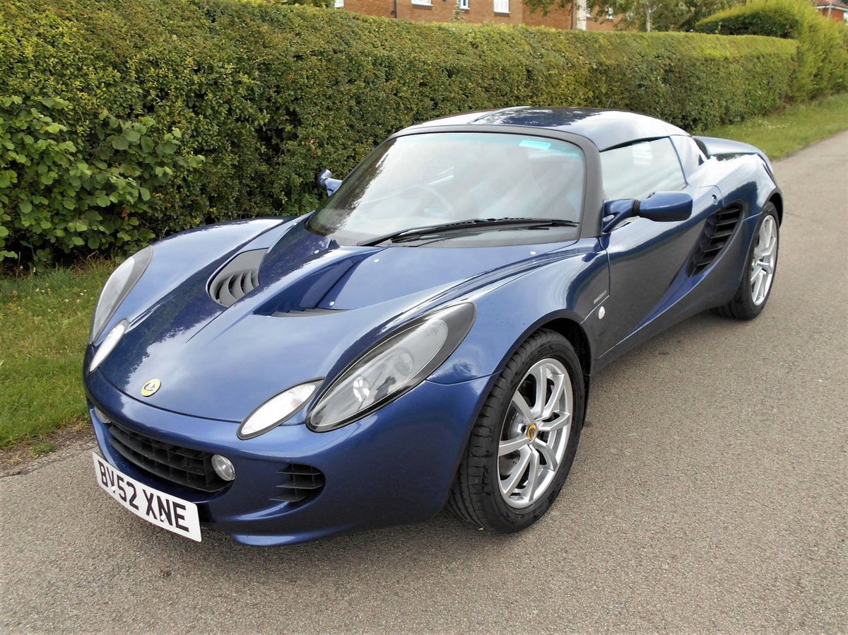 2003 Lotus Elise 111S SOLD (picture 1 of 6)