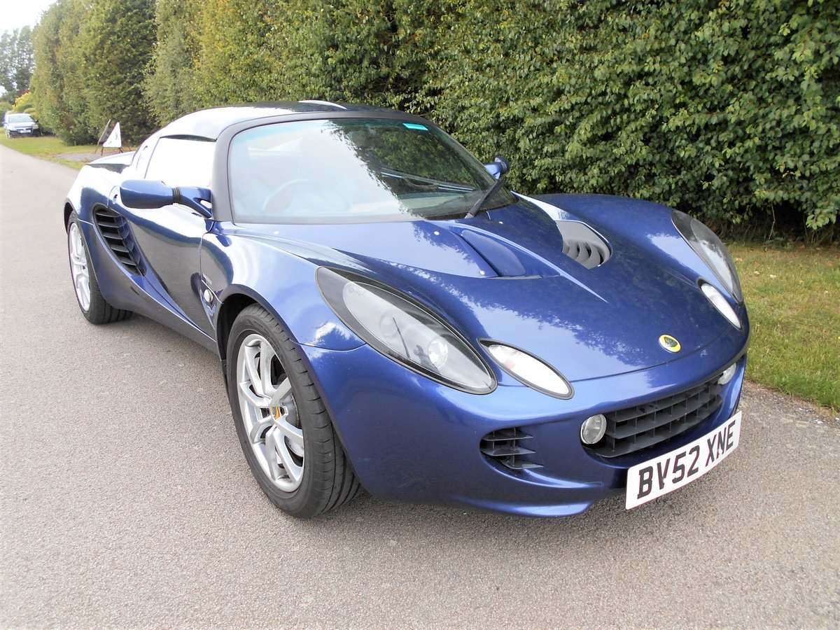 2003 Lotus Elise 111S SOLD (picture 2 of 6)
