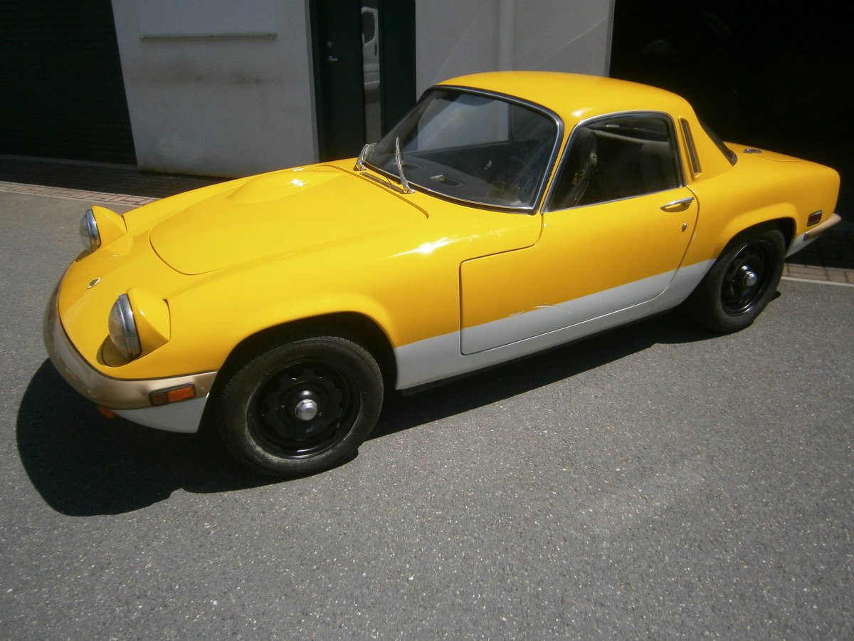 LOTUS ELAN SPRINT 1971 FHC GEN FACTORY SPRINT & LHD FOR TLC For Sale (picture 1 of 6)
