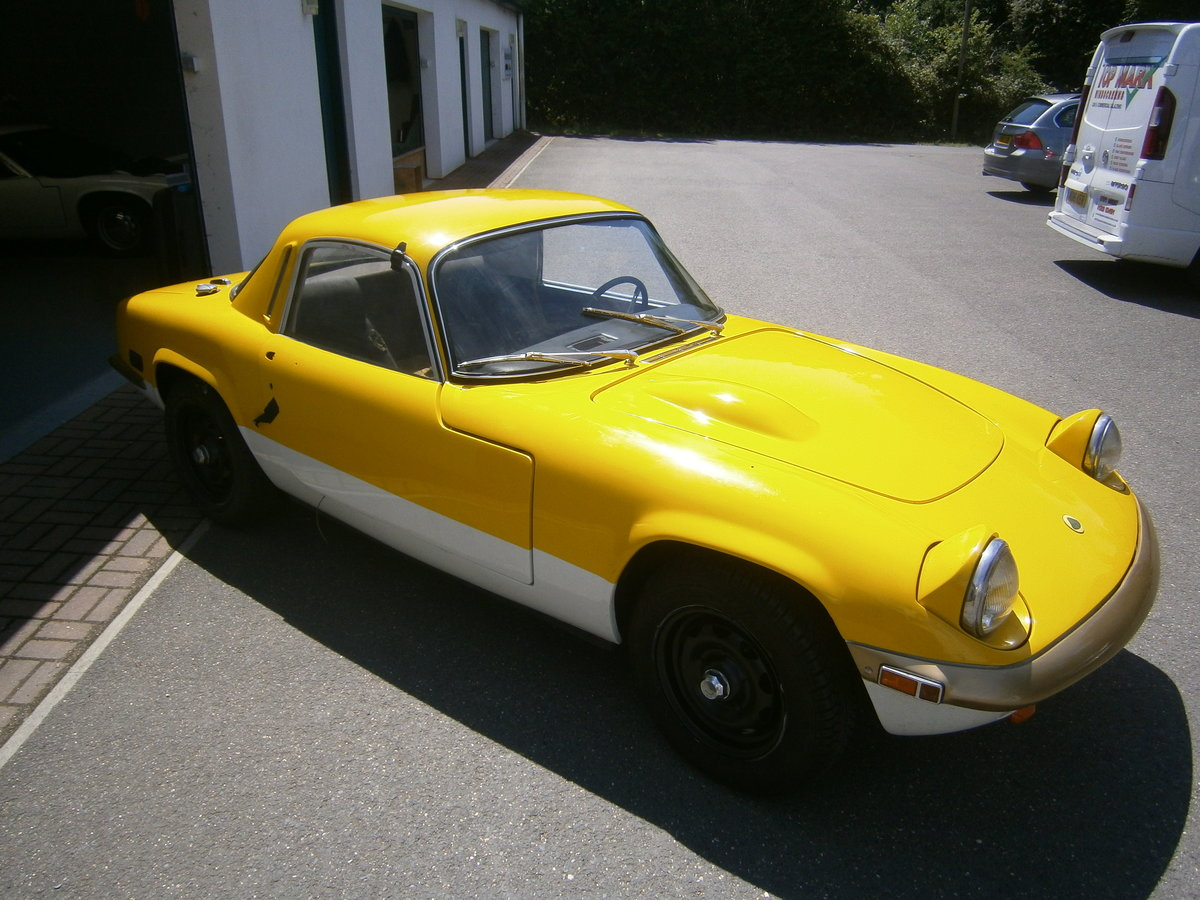 LOTUS ELAN SPRINT 1971 FHC GEN FACTORY SPRINT & LHD FOR TLC For Sale (picture 2 of 6)