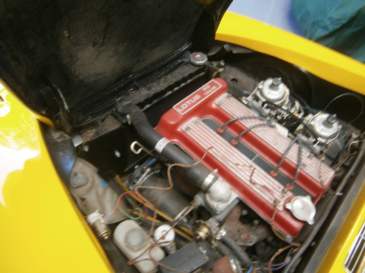 LOTUS ELAN SPRINT 1971 FHC GEN FACTORY SPRINT & LHD FOR TLC For Sale (picture 3 of 6)