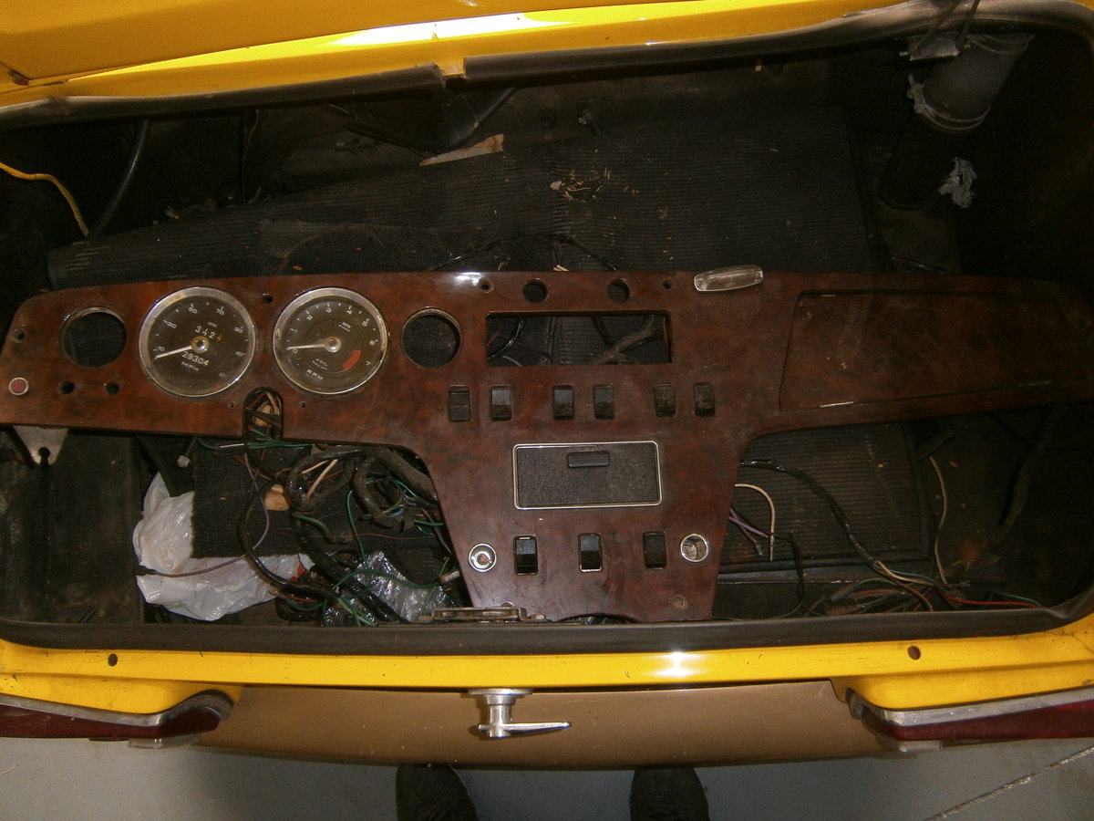 LOTUS ELAN SPRINT 1971 FHC GEN FACTORY SPRINT & LHD FOR TLC For Sale (picture 5 of 6)