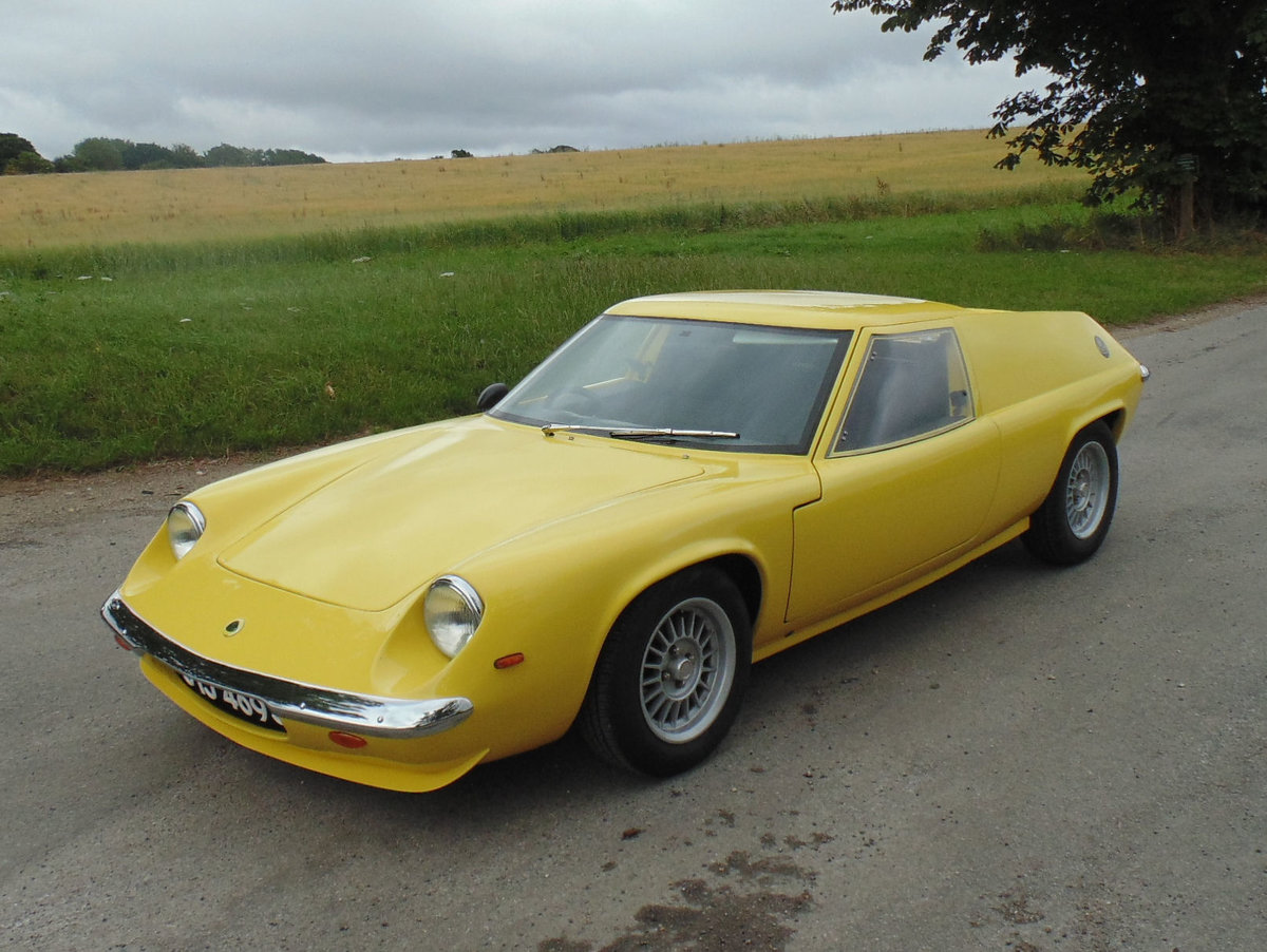 1971 Lotus Europa S2 For Sale (picture 1 of 6)