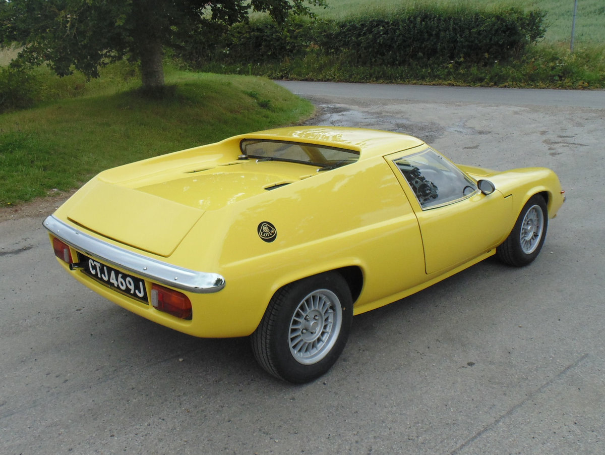 1971 Lotus Europa S2 For Sale (picture 3 of 6)