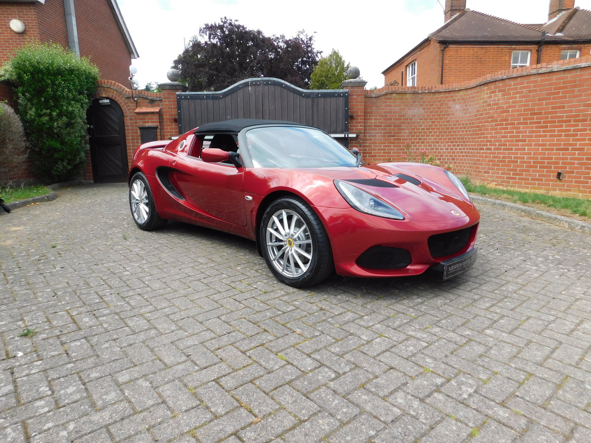 2020 Lotus Elise 220 Sport Brand New (SOLD) For Sale (picture 15 of 17)