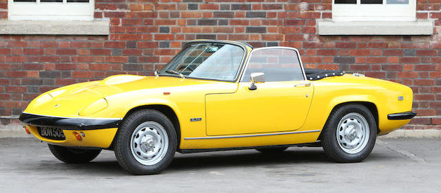 1970 Lotus Elan S4 Drophead Coupé